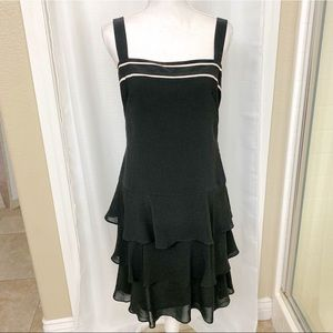 Loft Ruffle Dress Flapper Size 6
